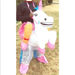 Other - Adult Unicorn Birthday Costume, Large